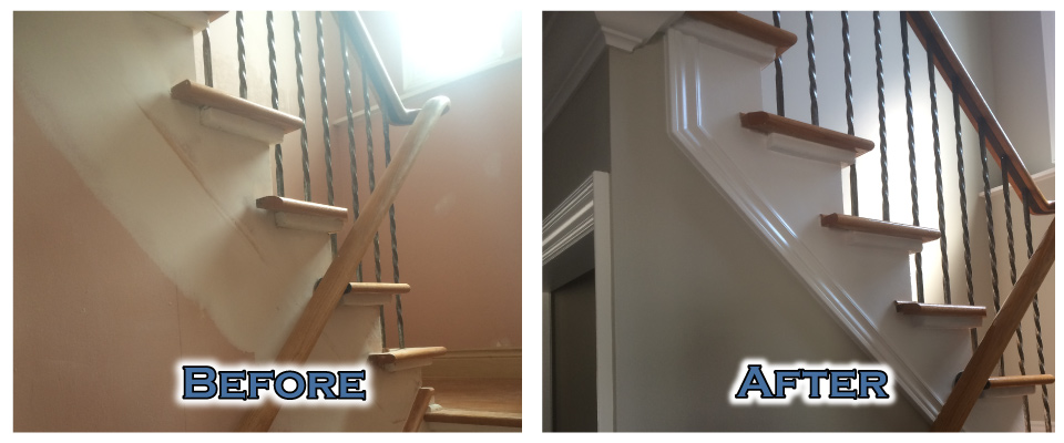 Before After Stairs