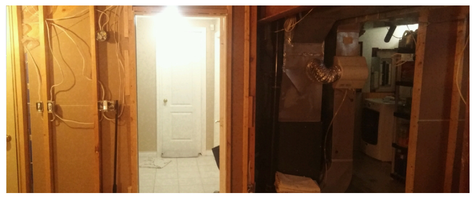 Basement renovation - before 4